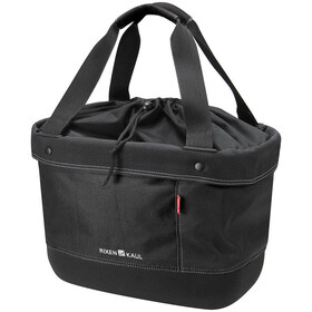 KlickFix Shopper Alingo Bike Bag, black